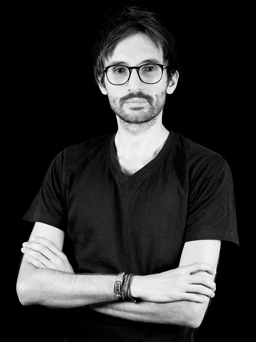 Portrait of Luca Gullì